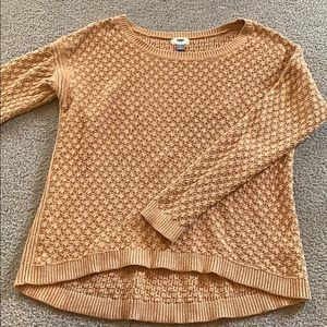 Tan Old Navy Knitted Sweater